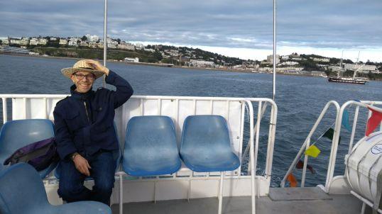 Jon on Boat