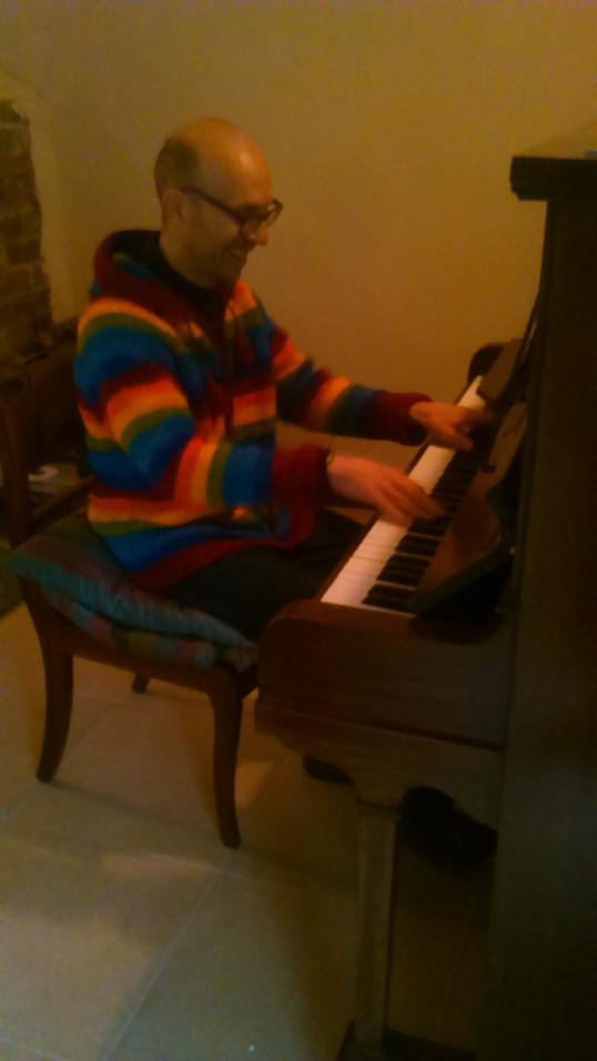 jon playing piano